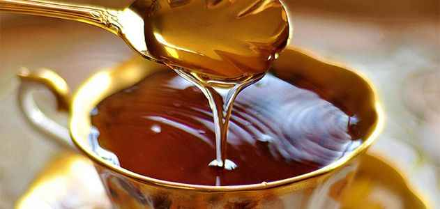 درمان معده درد با عسل طبیعی