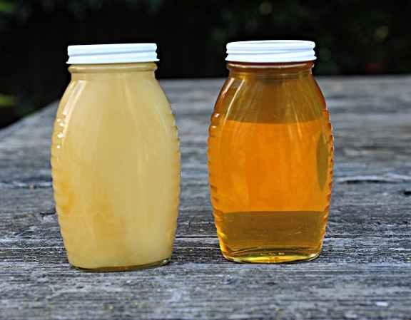 عسل حرارت خورده رس نمی بندد