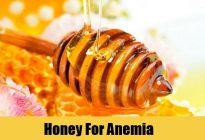 کم خونی و عسل