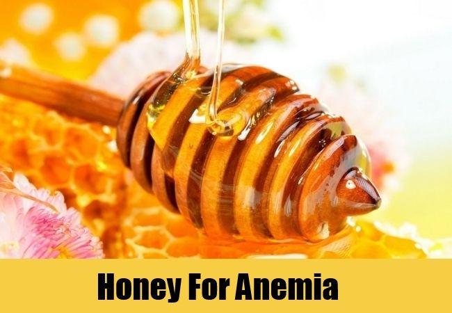 فواید عسل برای کم خونی