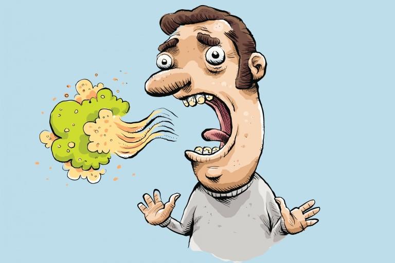درمان بوی بد دهان با عسل